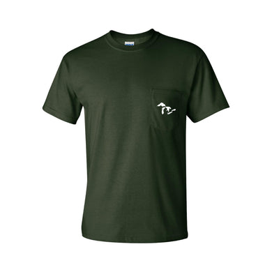 Great Lakes Pocket Tee