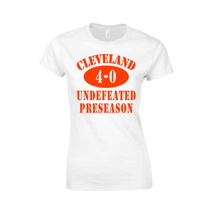 Undefeated Preseason Ladies Tee