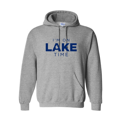I'm on Lake Time Hoodie