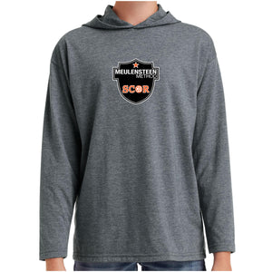 SCOR Youth Lightweight Long Sleeve Hooded Tee