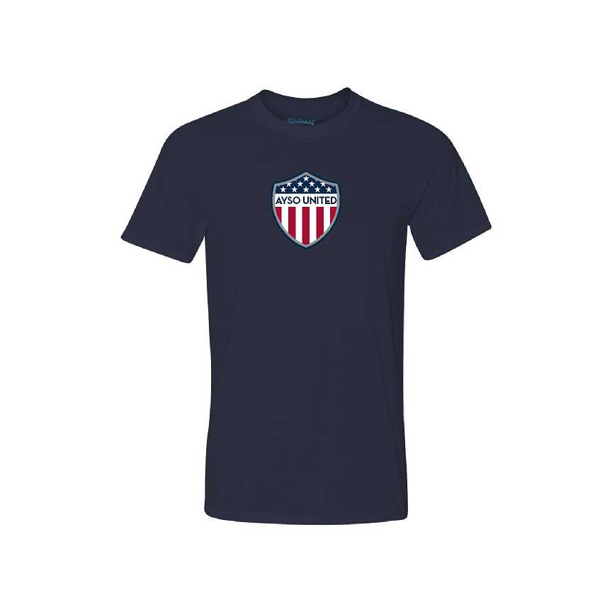 AYSO United Short Sleeve Performance Tee (Adult, Ladies, and Youth Sizes)