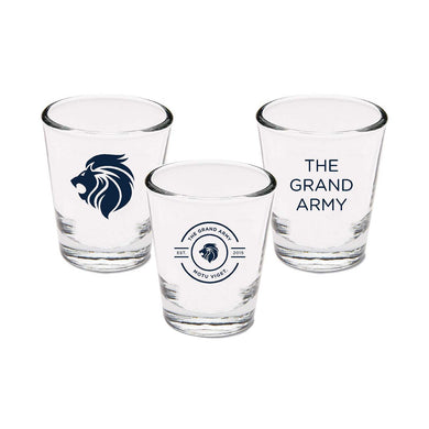 Grand Army Shot Glass Collection