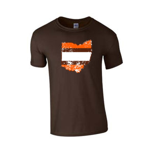 Browns Stripe Tee
