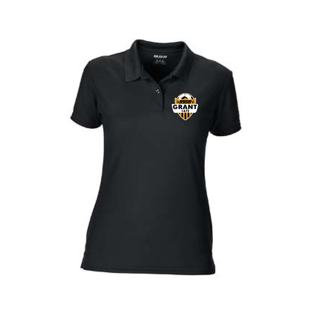 Grant AYSO Ladies' Performance Polo