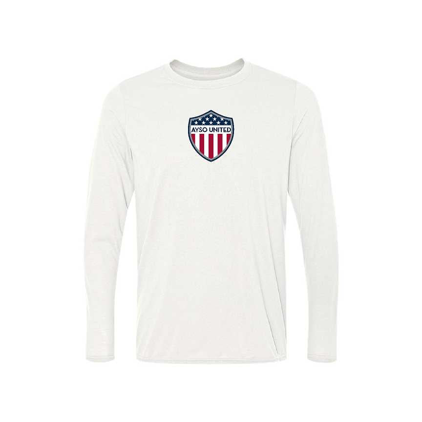 AYSO United Long Sleeve Performance Tee (Adult, Ladies, and Youth Sizes)