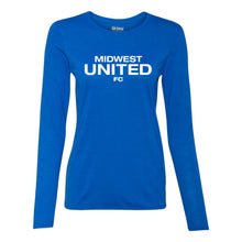 Midwest United Performance Long Sleeve Tee (Ladies)