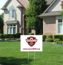 Grandville AYSO Yard Sign