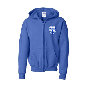 Midwest United Cotton Full Zip Hoodie (Youth)