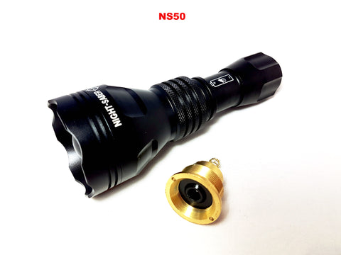 Night Saber NS50 Single cell Hunting lamp/Illuminator