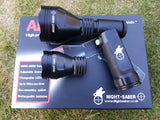 Night Saber Alpha 67mm + 50mm heads