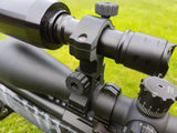 25mm torch tube Fully adjustable IR/Torch ball mount fits 25mm-40mm scope tubes (Quick detach)
