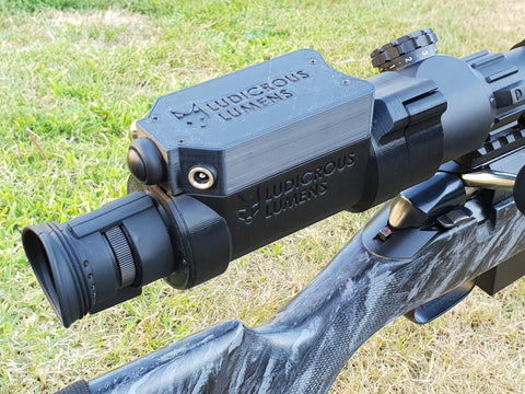 LL JAGER 700 Air rifle/Rimfire NEAR EYE Night Vision add on KPCE700pub + MP lens