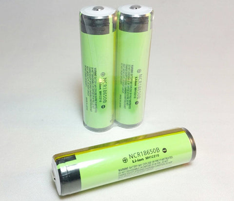 Panasonic NCR18650B 3400ma battery