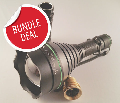 *BUNDLE DEAL* TR67 illuminator / gun light (67mm)