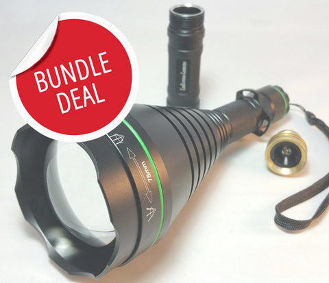 *BUNDLE DEAL* TR75 illuminator / gun light (75mm)