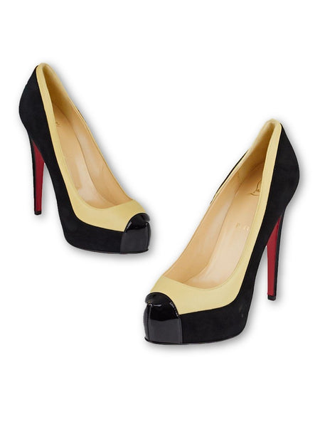 Christian Louboutin Mago Platform 140 Pumps Shoes Size Ladies