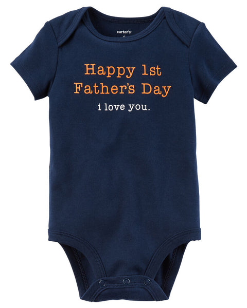 Carter's First Father's Day Collectible Bodysuit 3 month children