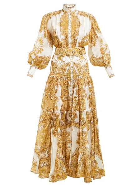 ZIMMERMANN SOLD OUT Zippy Billow Runaway Maxi Dress Dress