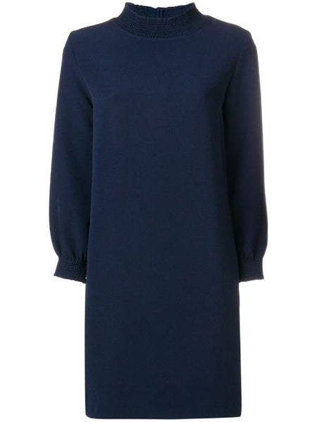 A.P.C. Rue Madame Paris Navy Julie Dress Size F 36 UK 8 US 4 S small Ladies