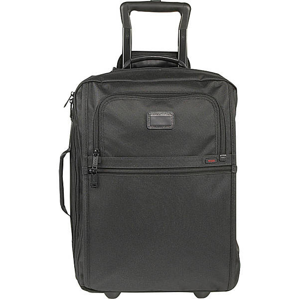 TUMI Suitcase Alpha Black Ballistic Nylon Luggage Trolley 22900DH Men