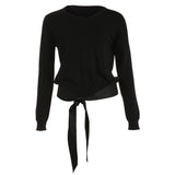 CHANEL BLACK CASHMERE CROPPED JUMPER SWEATER S SMALL AUTHENTIC Ladies