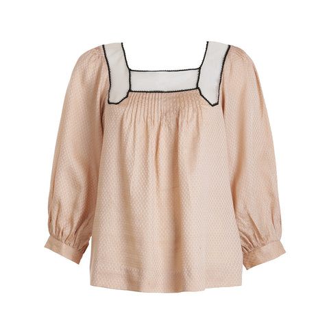 3.1 PHILLIP LIM SILK LONG SLEEVE TOP SIZE US 4 UK 8 S SMALL LADIES