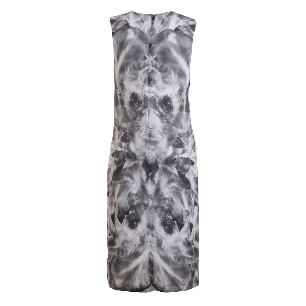 McQ Alexander McQueen Mirrored Iris Dress Size XL  LADIES