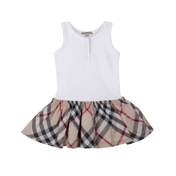 BURBERRY GIRLS NOVA CHECK A-LINE DRESS 3 years 98 cm Children