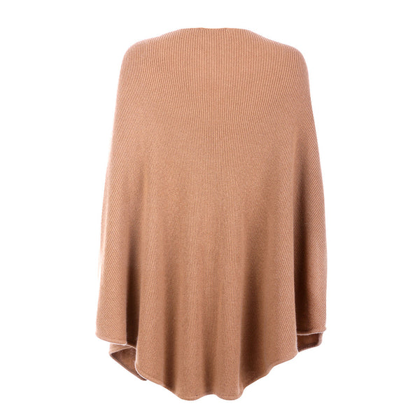 MAJE CAPE PONCHO WOOL CASHMERE KNIT HARNAIS ONE SIZE LADIES