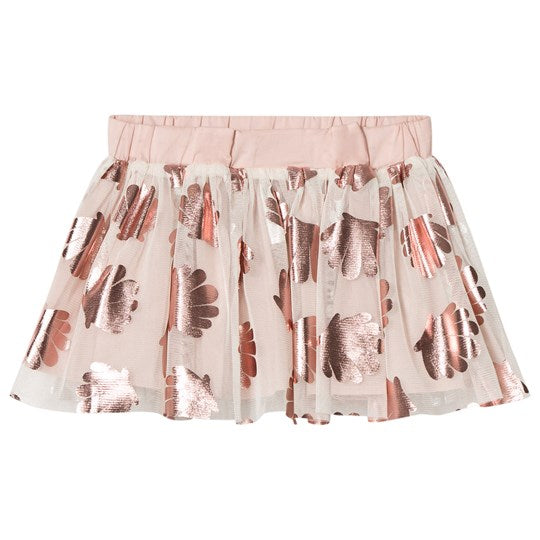 STELLA MCCARTNEY KIDS White Shell Print Honey Tulle Tutu Skirt  Children