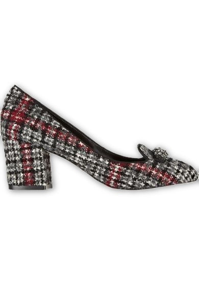Dolce & Gabbana Tweed Wool Pumps Shoes  Ladies