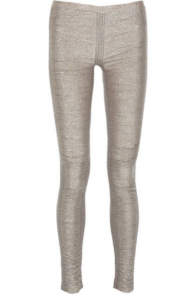 sass & bide update the iconic Rats Silver Leggings Pants Size Small / Medium ladies