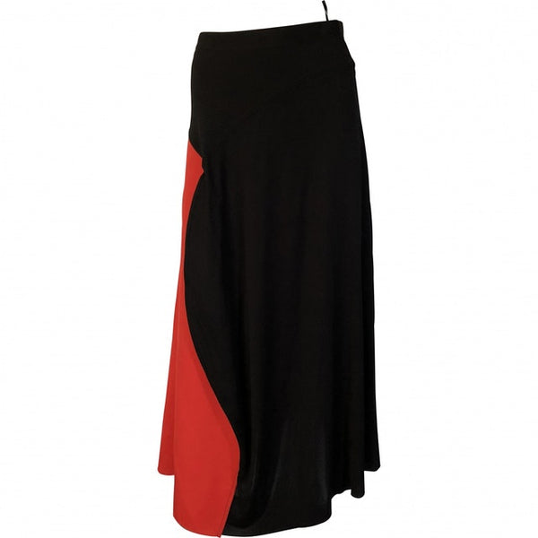CÉLINE Celine Phoebe Philo A-LINE FLOATY MAXI SKIRT Size F 38 UK 8 US 4 Ladies