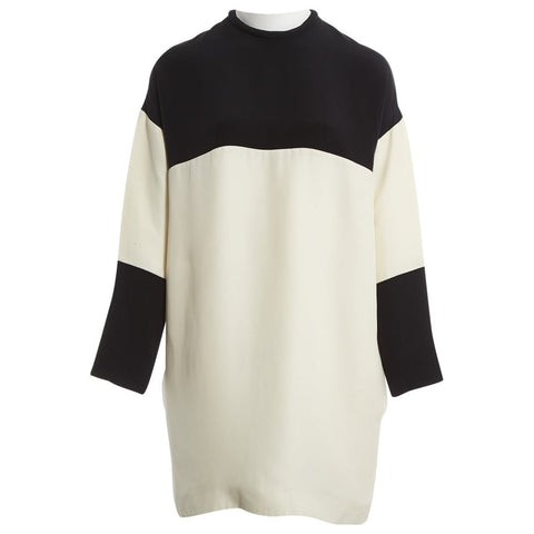 CÉLINE Celine Phoebe Philo Color Block Dress Ladies