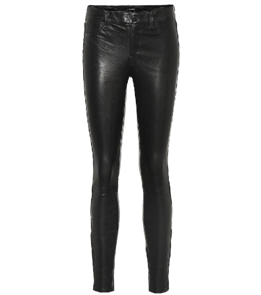 J BRAND L8001 Leather Super Skinny Pants Trousers Size 25 MOST WANTED ladies