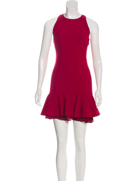Cushnie et Ochs The Josephine Red Dress Size US 4 UK 8 ladies