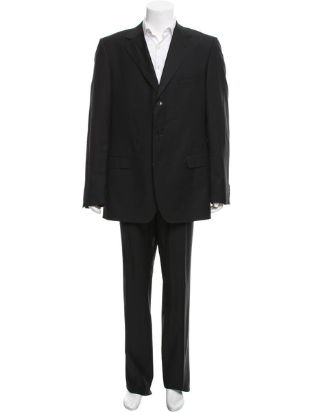 SARTORIA ATTOLINI NAPOLI Wool Suit Mens Size I 50 US 40 Men