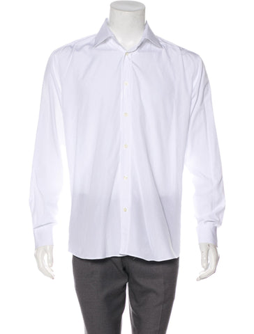 Campomarzio9 CM9 Roma HAND MADE LONG SLEEVE BUTTON-UP SHIRT  Men