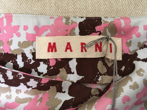 MARNI MULTICOLOR SKIRT NEW WITH TAGS SIZE I 38 XS EXTRA SMALL LADIES