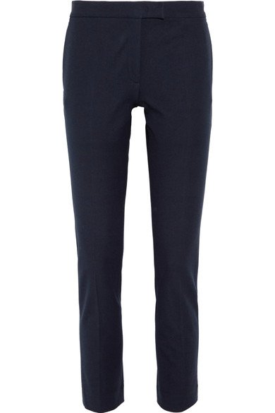 JOSEPH Finley cropped stretch-gabardine slim-leg Pants Trousers  Ladies