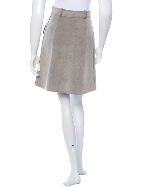 LOUIS VUITTON COLORBLOCK A-LINE SKIRT FALL 2014 COLLECTION SIZE F38 S SMALL LADIES