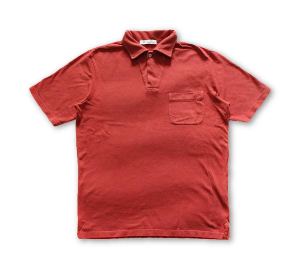 LORO PIANA Cotton-Piqué Polo Shirt Top T-shirt Size M MEDIUM men