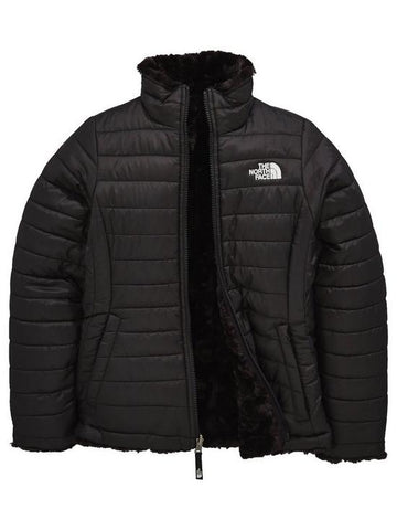 THE NORTH FACE GIRL'S REVERSIBLE MOSSBUD SWIRL JACKET  Children