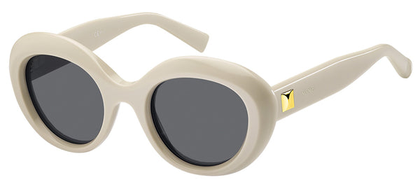 MaxMara MM Prism V-10A White Sunglasses ladies