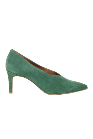 & Other Stories Los Angeles Green Suede Pumps Shoes EU 38 UK 5 US 8 ladies