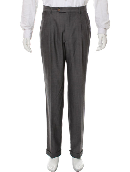 Ralph Lauren Polo Grey Virgin Wool Suit Trousers Pants  Men