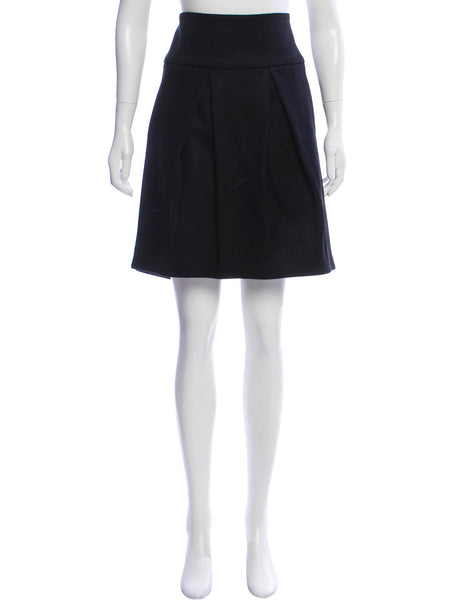Brunello Cucinelli Black Office Casual Skirt Ladies