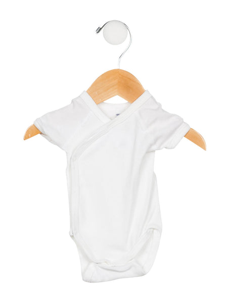4 PETIT BATEAU Baby's Long Short Sleeve All-In-One Body Size 1 month 54 cm children