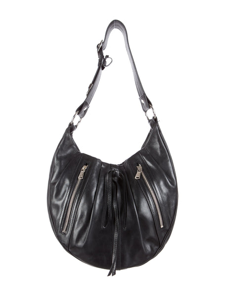 YVES SAINT LAURENT BY TOM FORD YSL RG CLASSIC PLEATED HOBO HANDBAG LADIES