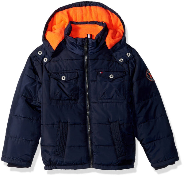 Tommy Hilfiger Little Boys' Alexander Puffer Jacket Size 12 month children